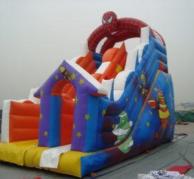 T8-1407 Spider-Man Inflatable Slide