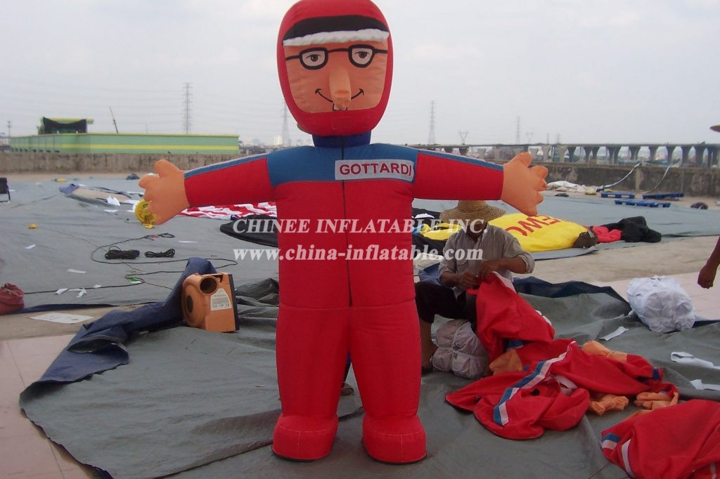 M1-284 inflatable moving cartoon