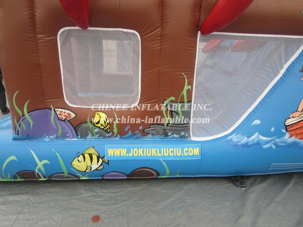 T2-2166 Inflatable Bouncers