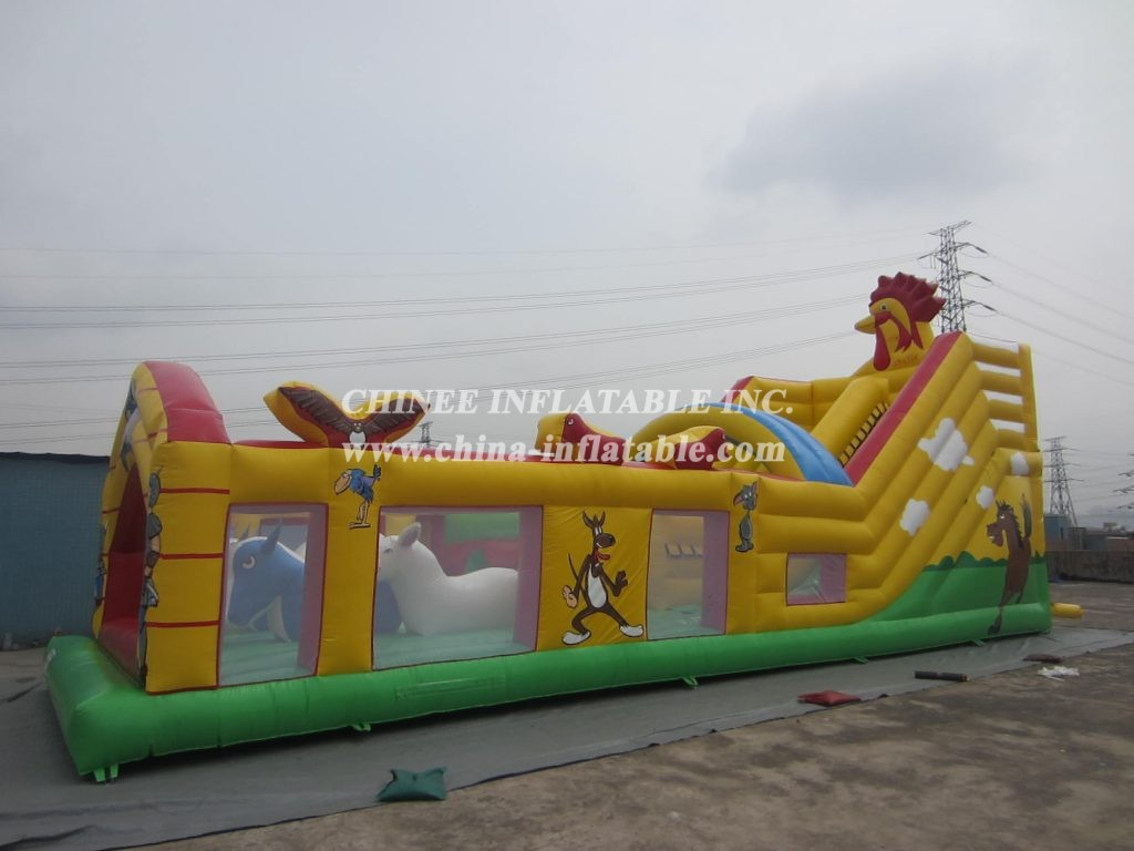 T7-122 inflatable obstacle
