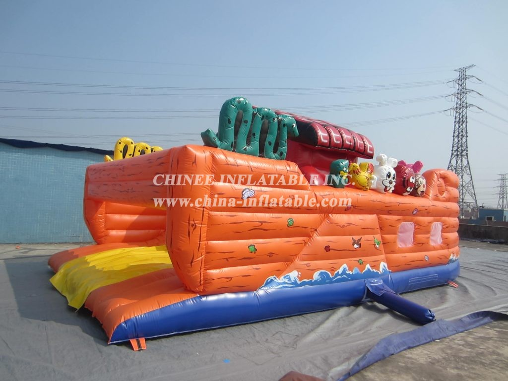 T2-414 inflatable bouncer