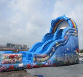 T8-1403 Mermaid Inflatable Slide