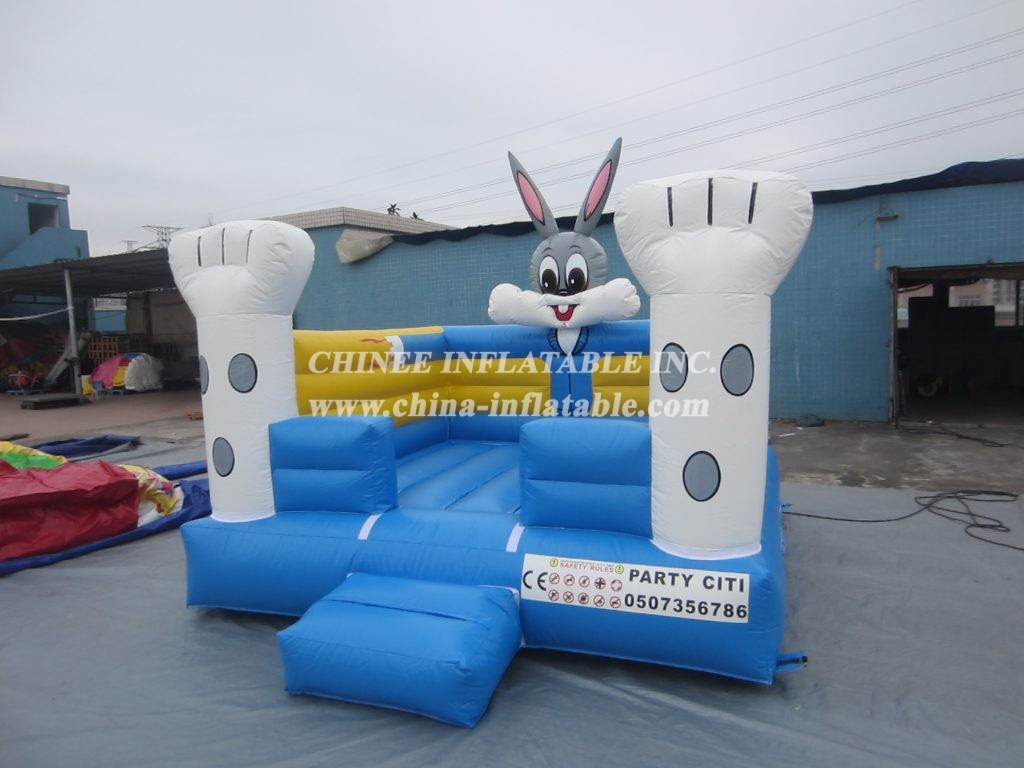 T2-2885 Inflatable  Rabbit Bouncer