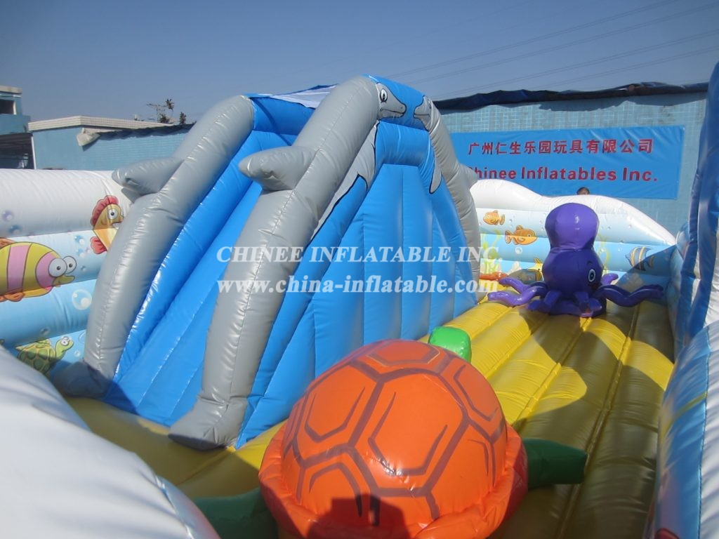 T2-3183 inflatable bouncers