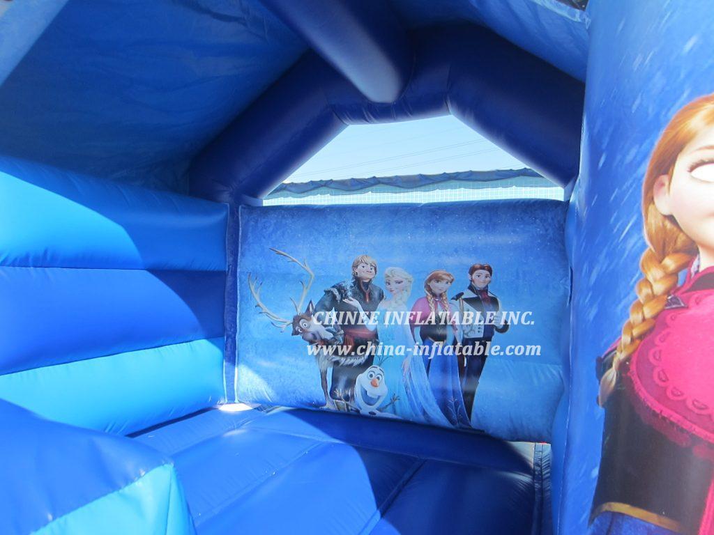 TT2-2723 Inflatable Bouncers FROZEN combo