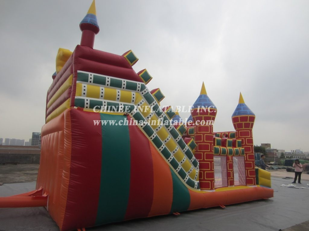 T8-379  Inflatable Slides
