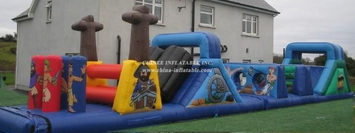 T7-366 Inflatable Obstacles Courses