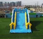 T8-338 Sea World theme outdoor giant inflatable slide bouncy castle for kids