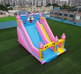 T8-638 Tom and Jerry outdoor giant inflatable slide bouncy castle for kids