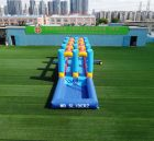 T8-546 Outdoor 12m slip and slide inflatable water game for kids event