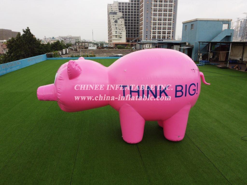 Cartoon1-218 Inflatable Cartoon  Inflatable Pig  Inflatable Charater Inflatable Advertising Cartoon