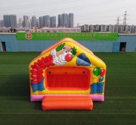 T2-2026 Clown theme bounce house for kids party event commercial inflatable