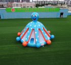 T2-2471 Giant Octopus inflatable bounce house jumping castle kids playground