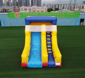 T8-678 Outdoor kids inflatable slide dry slide for party event pool slide