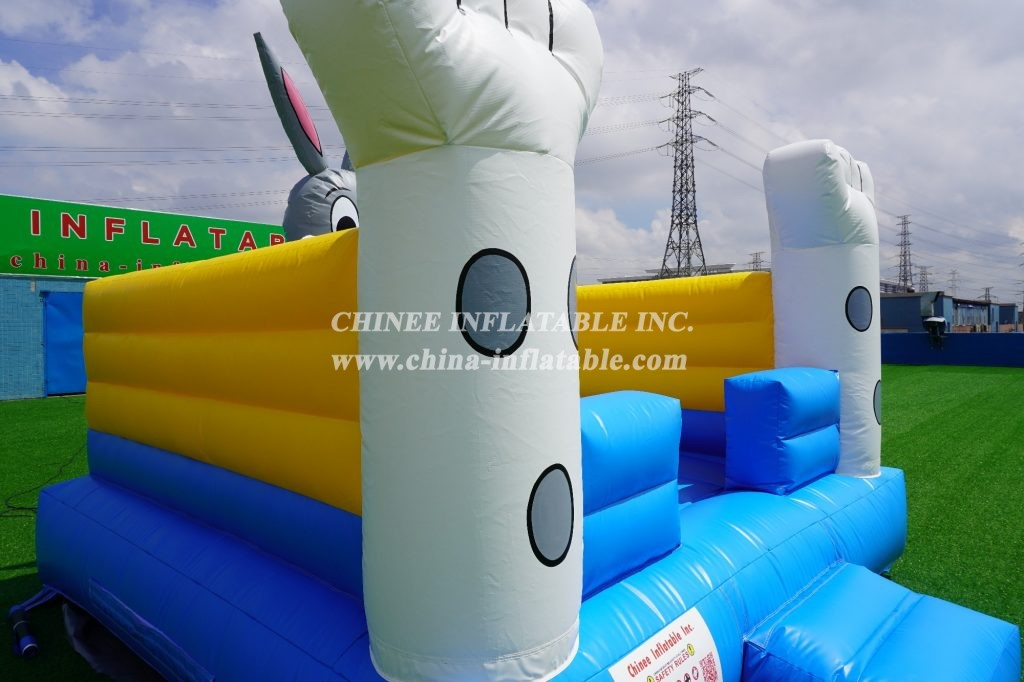 T4-27 Rabbit theme inflatable bouncer
