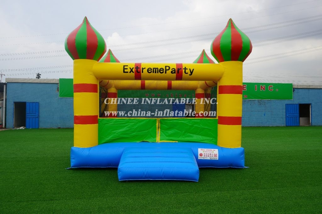 T2-165 4 sides meshes inflatable Castle