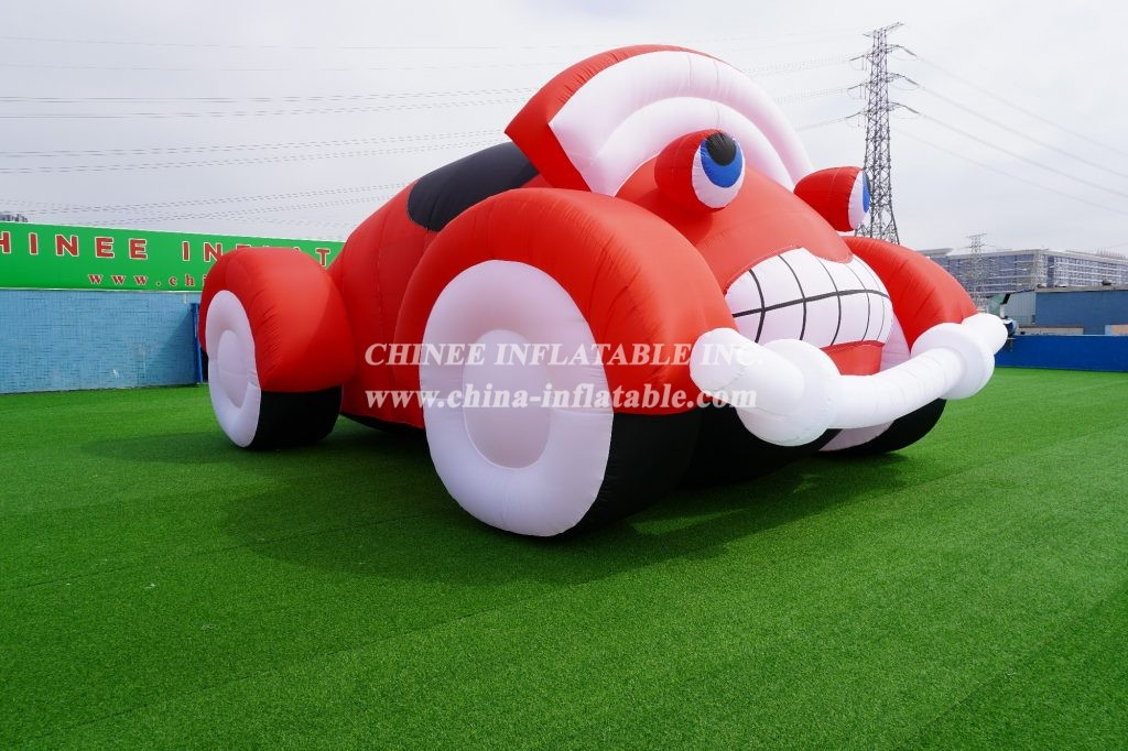 S4-201 Giant inflatable frog inflatable toad inflatable car