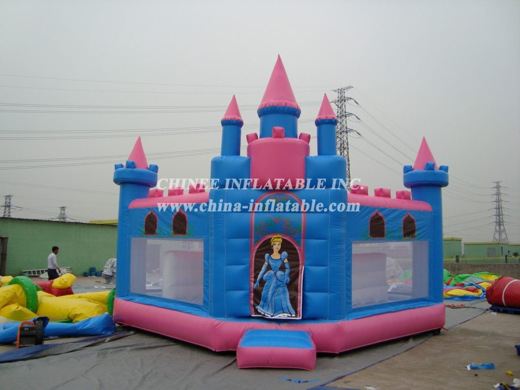 T2-453 Inflatable bouncers
