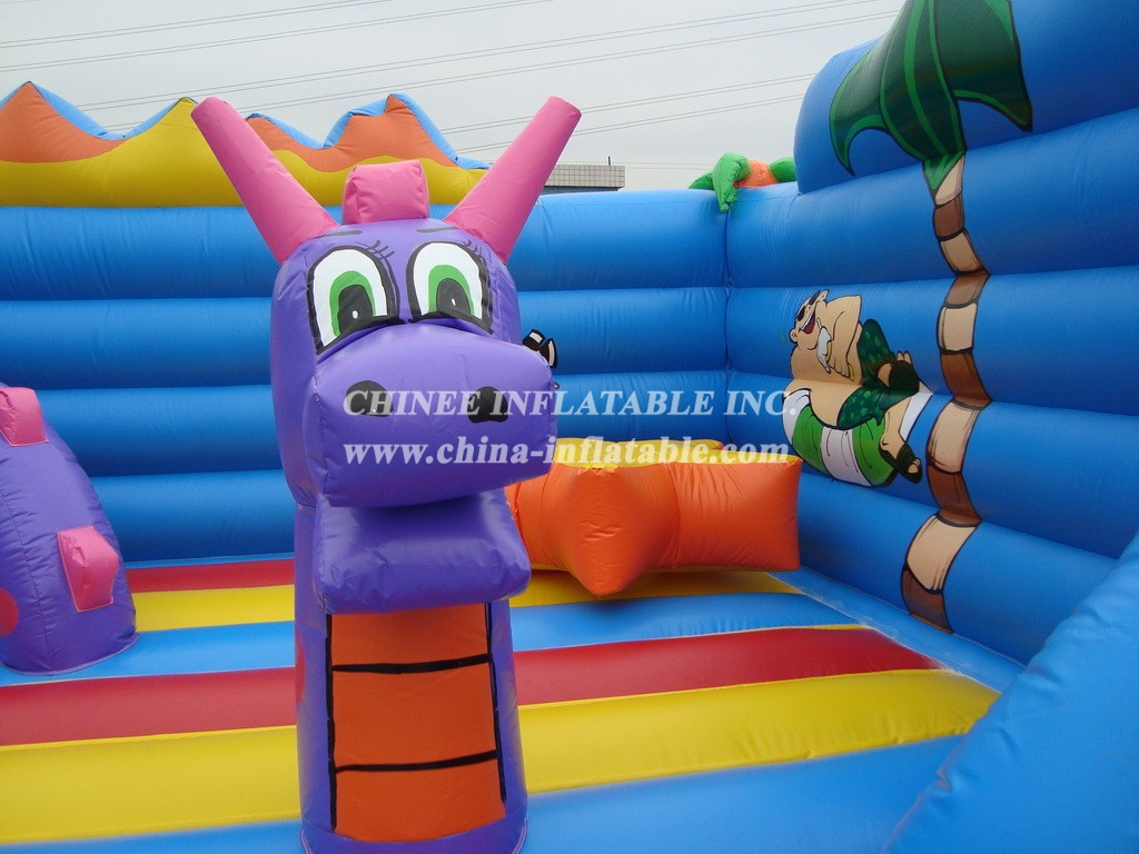 T2-2168 Inflatable Bouncers
