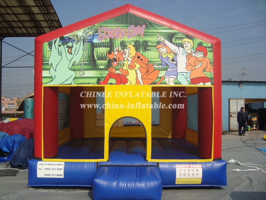 T2-2730 Inflatable Bouncers