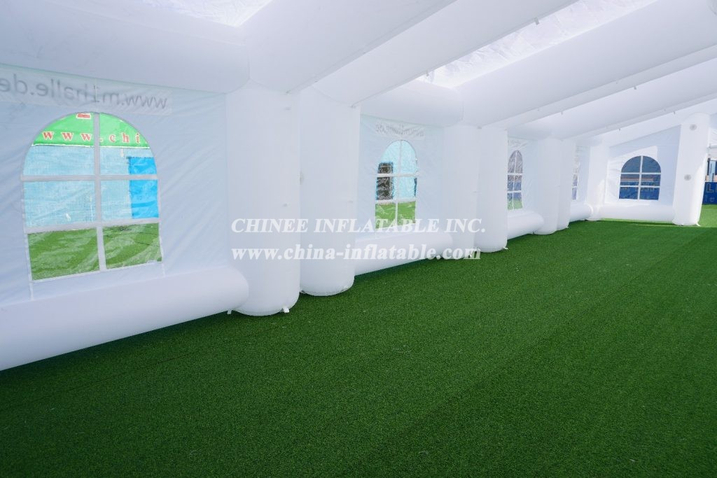 tent1-277 Inflatable wedding tent outdoor Camping Party Advertising Event big white tent from Chinee inflatables