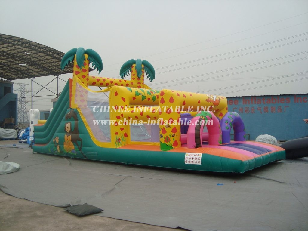 T7-496 Inflatable Obstacles Courses