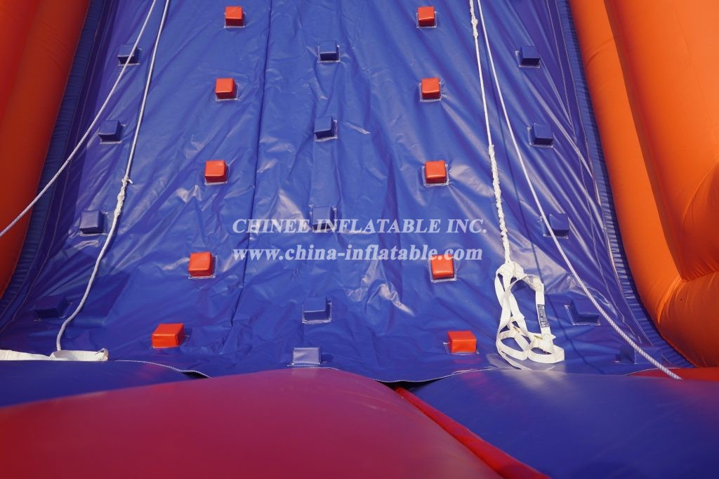 T11-1176 Inflatable rock climbing wall