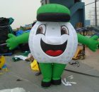 M1-8 inflatable moving cartoon