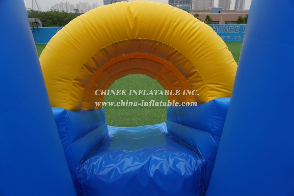 T2-2865 Inflatable Thomas train Jumping Bouncy Castle Air Bounce House bouner