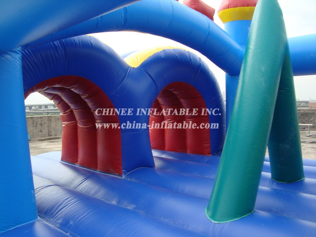 T7-466 Inflatable Obstacles Courses