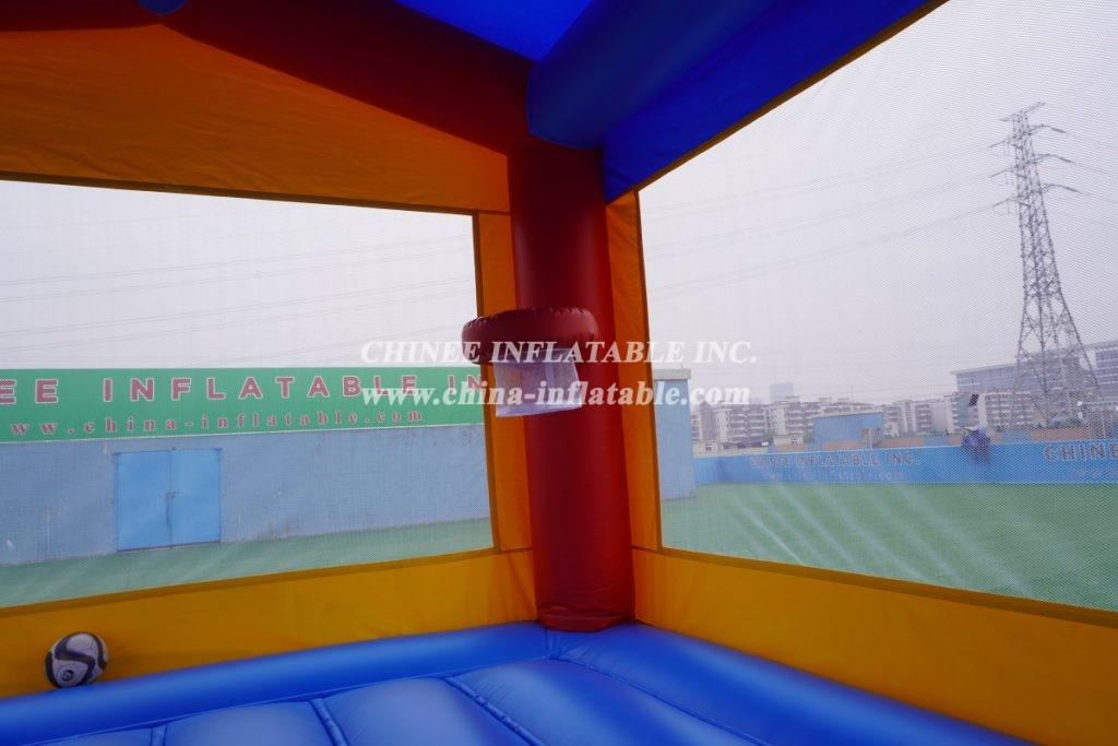 T2-2781 inflatable commercial party fun for kids bouncy castle Teenage Mutant Ninja Turtles theme combo