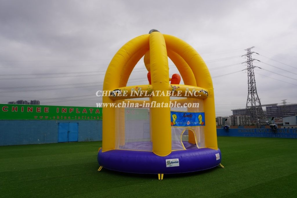 T2-2590 TweetyBird Theme Inflatable Bounce House Jumping Bouncer For Kids
