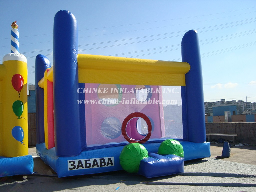 T2-656 inflatable bouncer