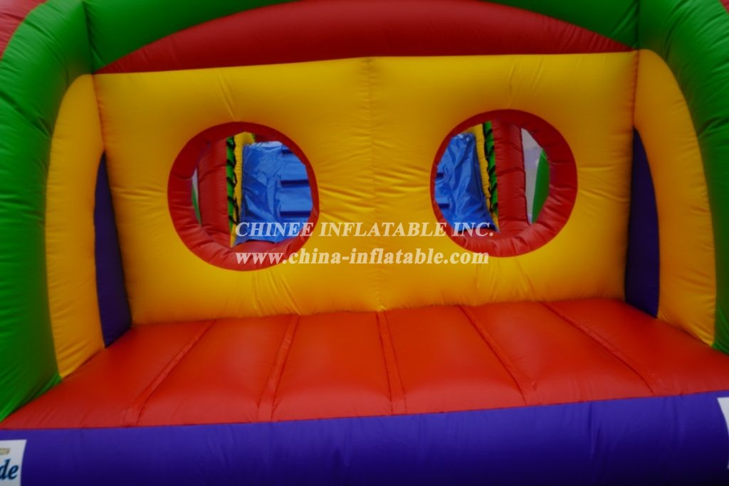T7-236 Commercial inflatable obstacle game course outdoor inflatable obstacle