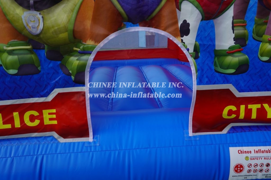T2-2401 PAW Patro inflatable bouncer  inflatable Childrens Paw Patrol Themed Bouncy Castle from Chinee inflatables