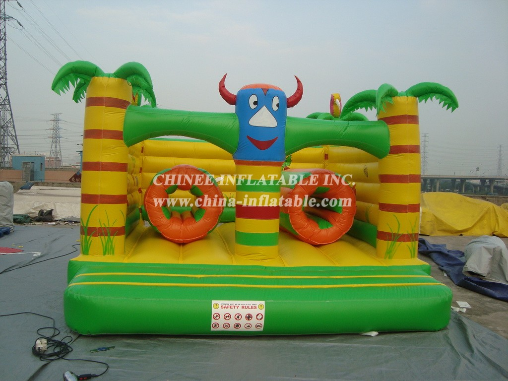 T2-418 inflatable bouncer