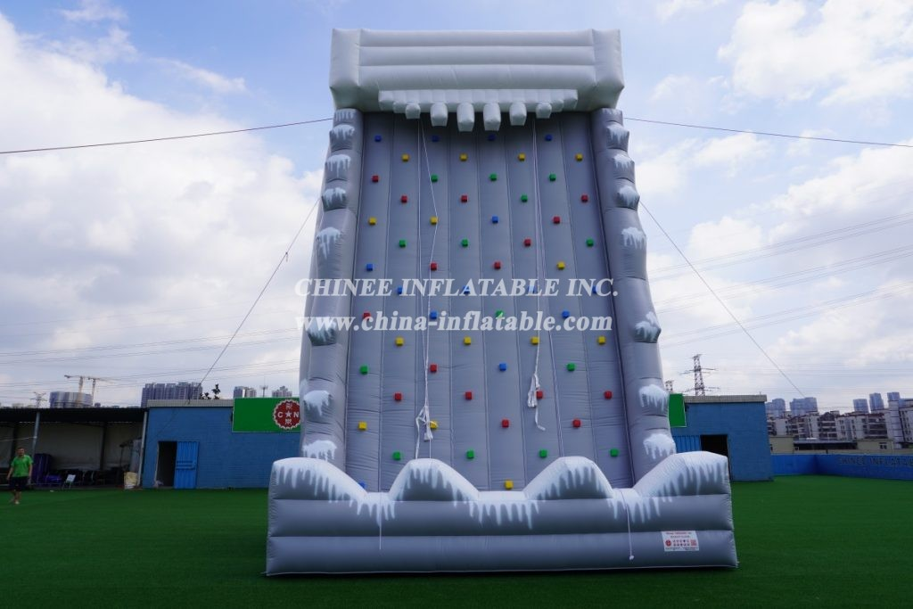 T11-607 Inflatable Sport Game Rock Climbing Wall
