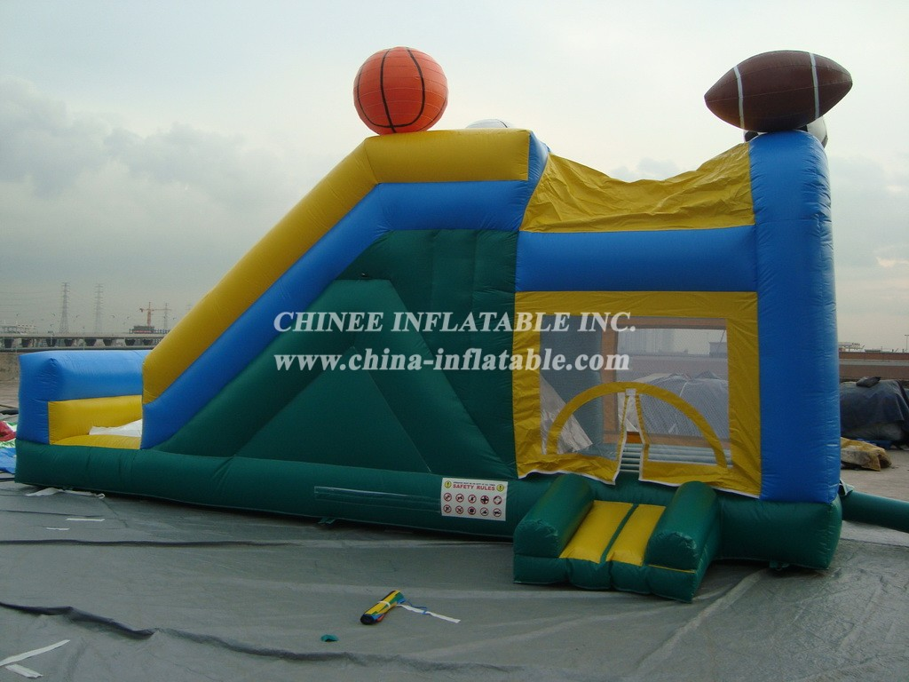T2-2433 Inflatable Bouncers