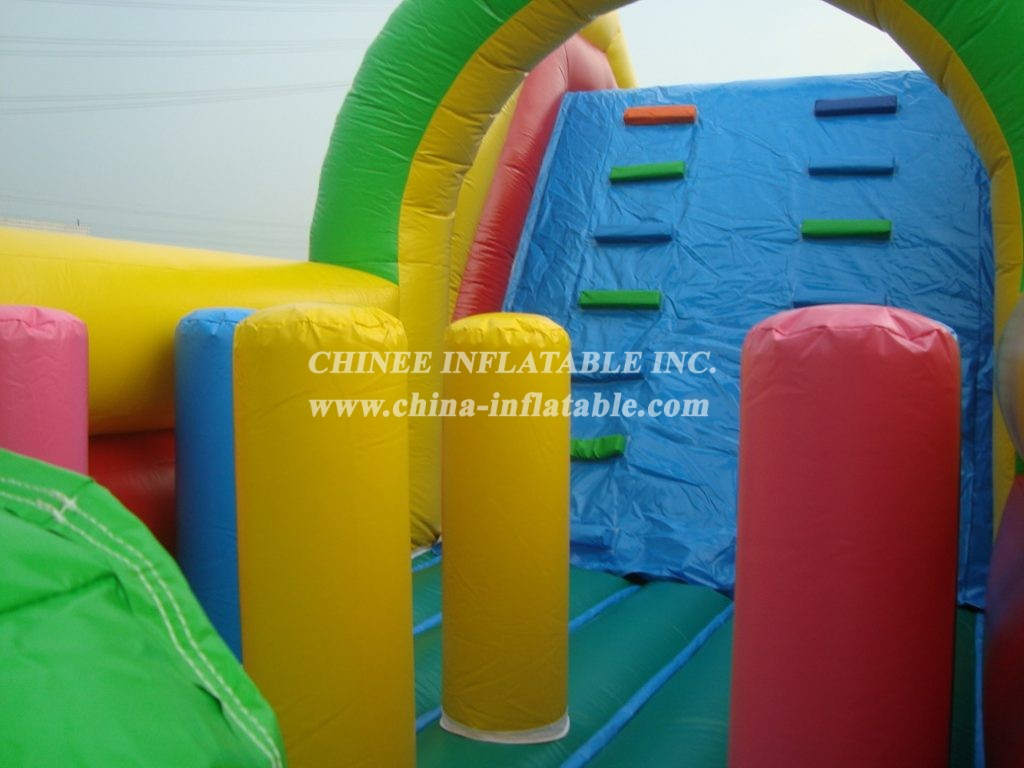 T7-417Inflatable Obstacles Courses