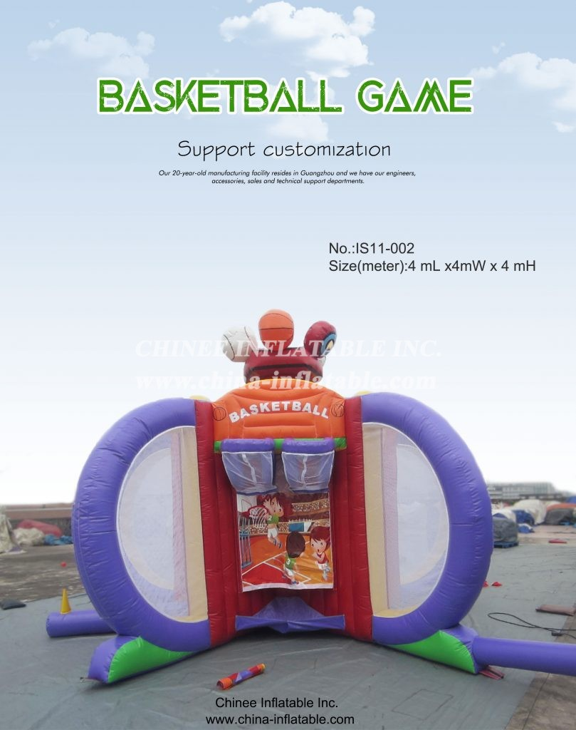 IS11-002 - Chinee Inflatable Inc.