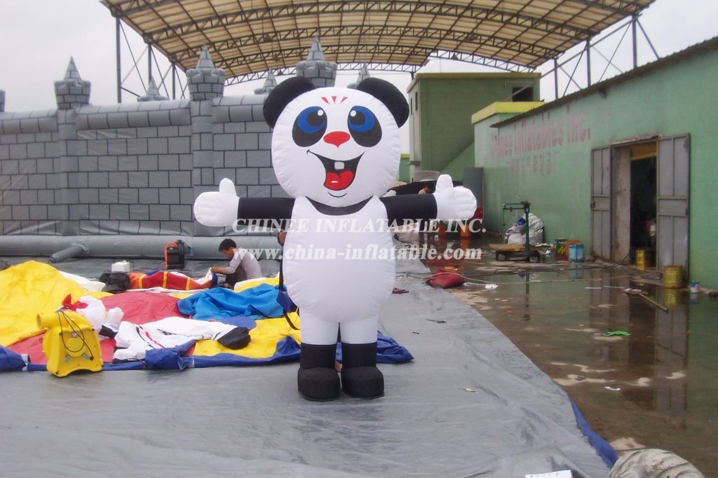 M1-14 inflatable  moving Panda