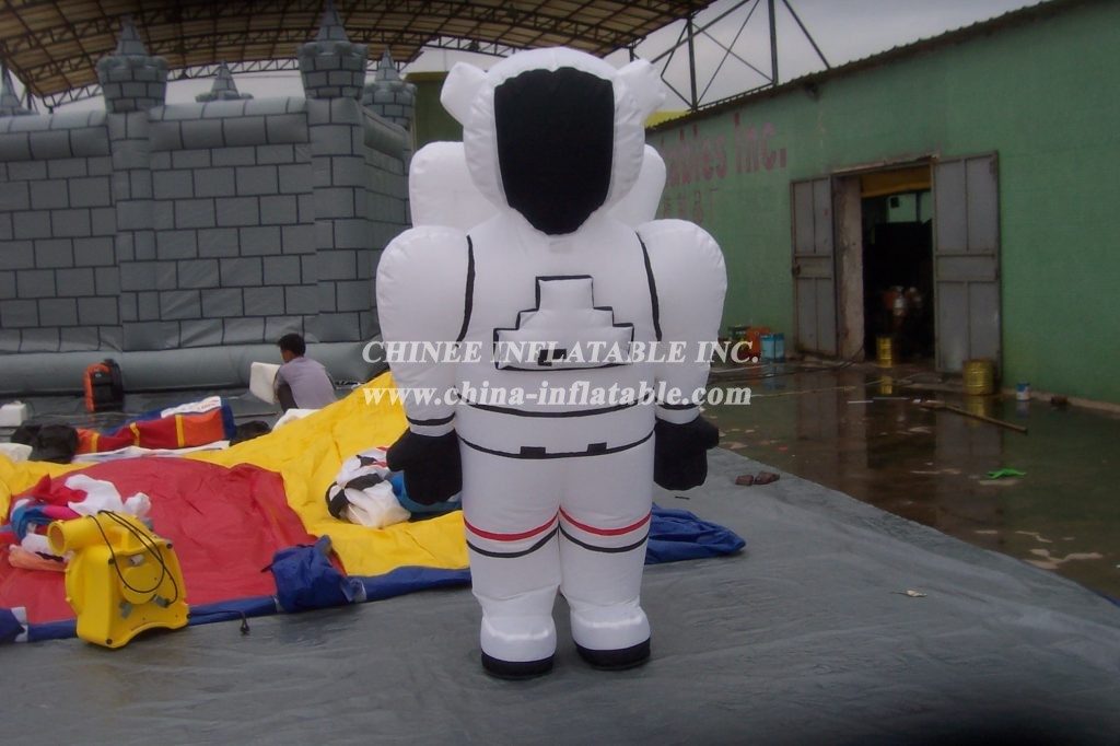 M1-208 inflatable moving Astronaut