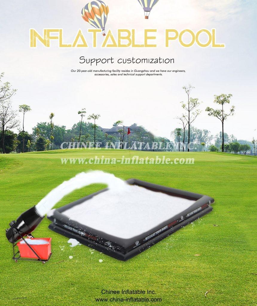 POOL1-10泡泡池(2) - Chinee Inflatable Inc.