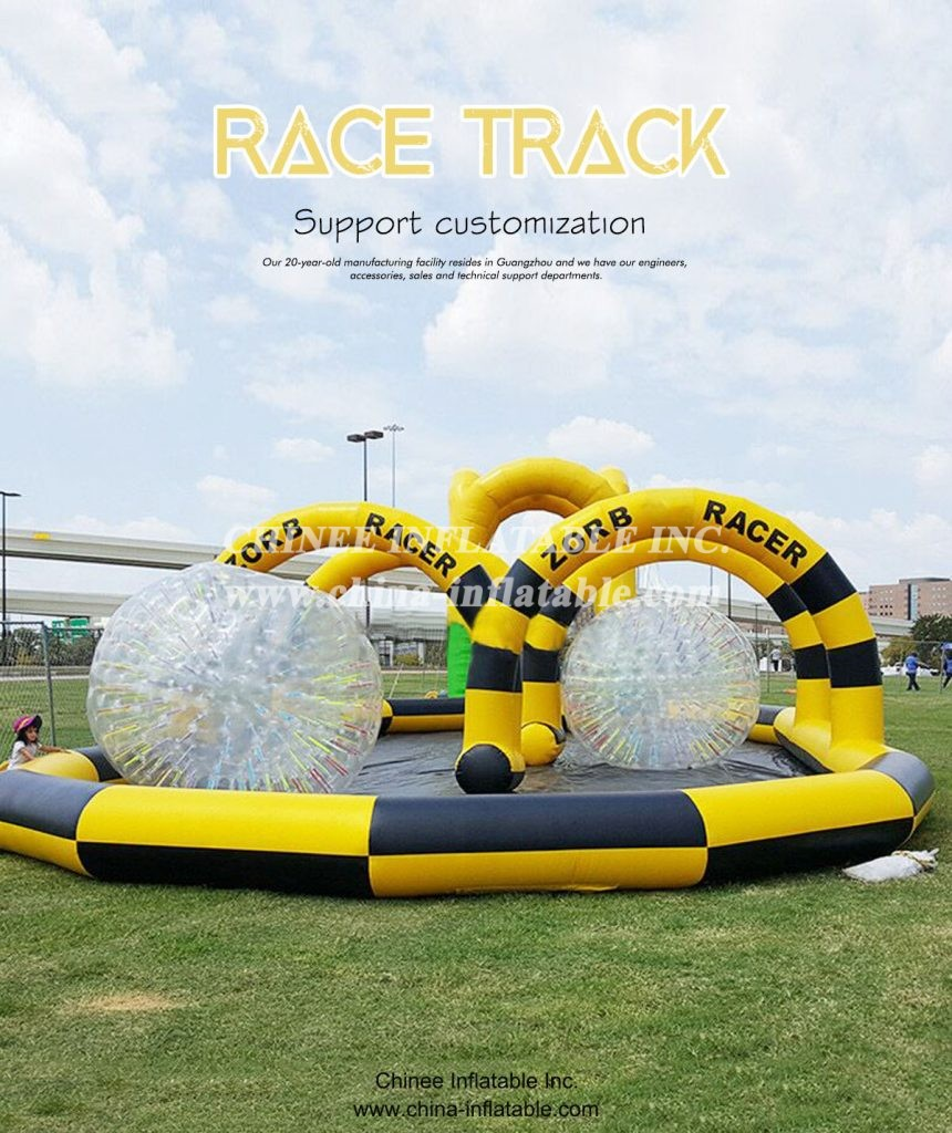 RACE TRACK - Chinee Inflatable Inc.