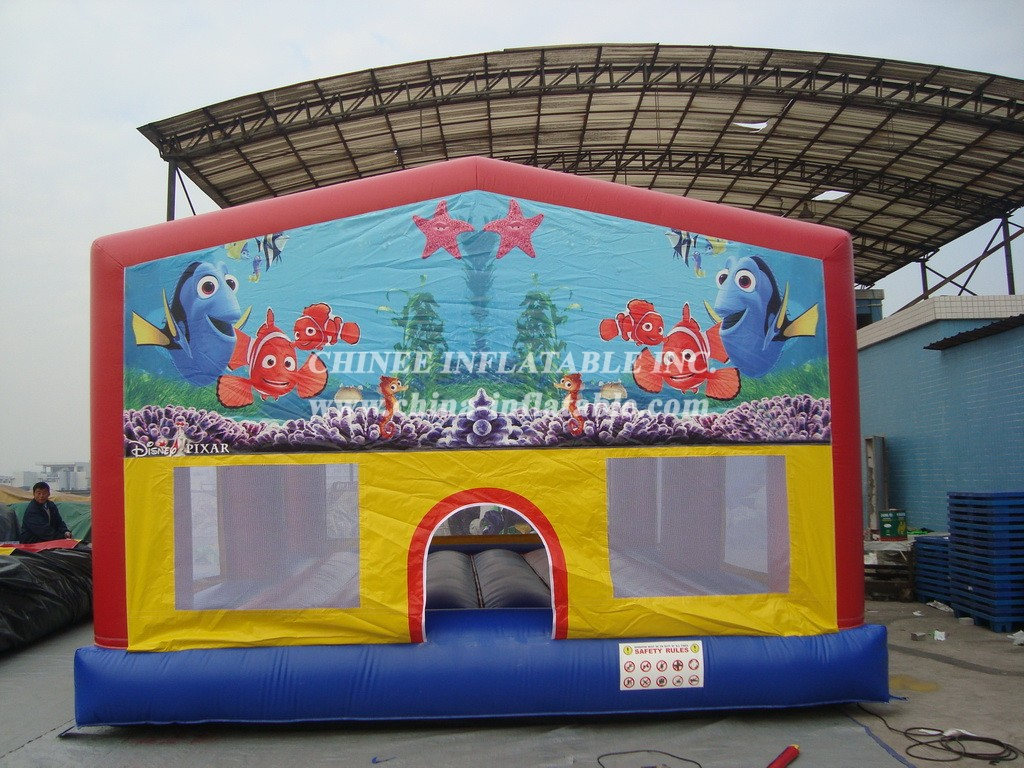 T1-124 inflatable bouncer