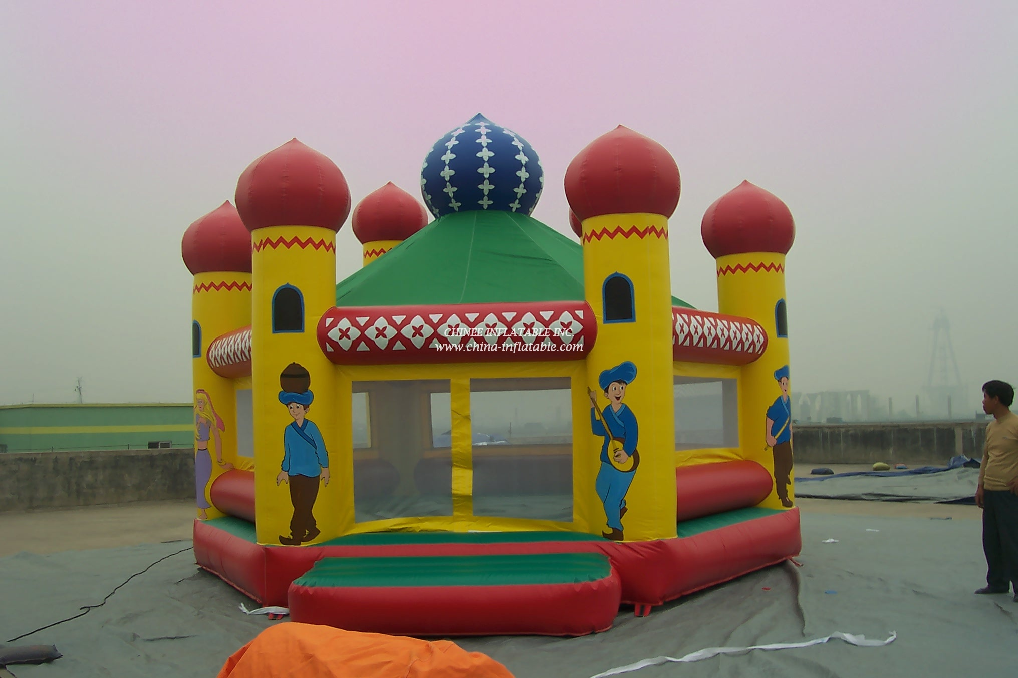 T1-150 inflatable bouncer