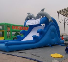 T10-128 Inflatable Water Slides