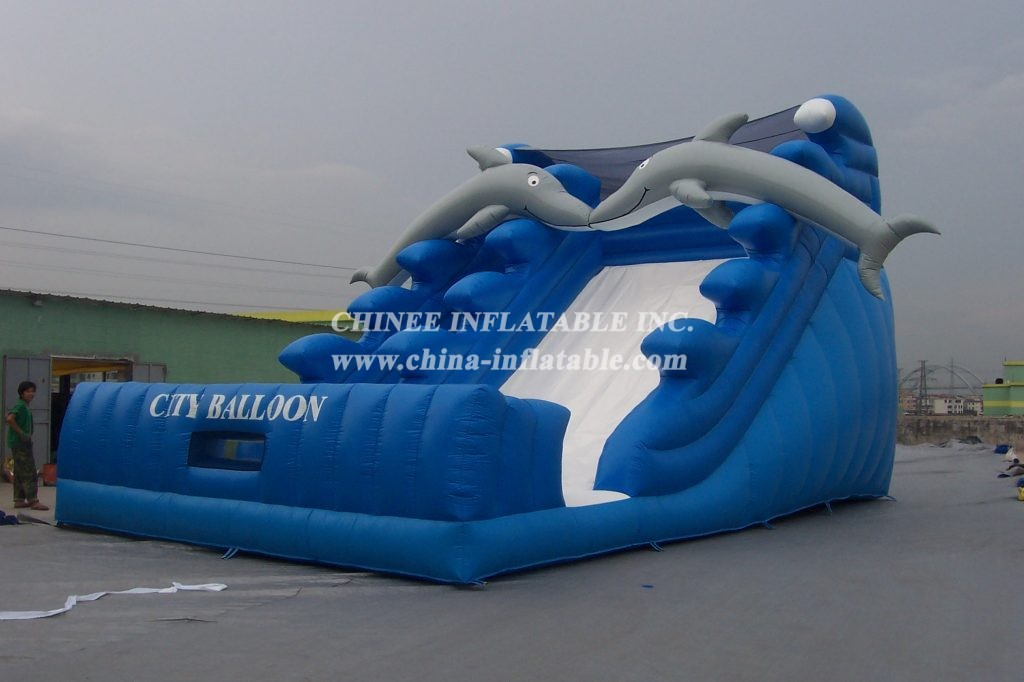 T10-130 Inflatable Water Slides