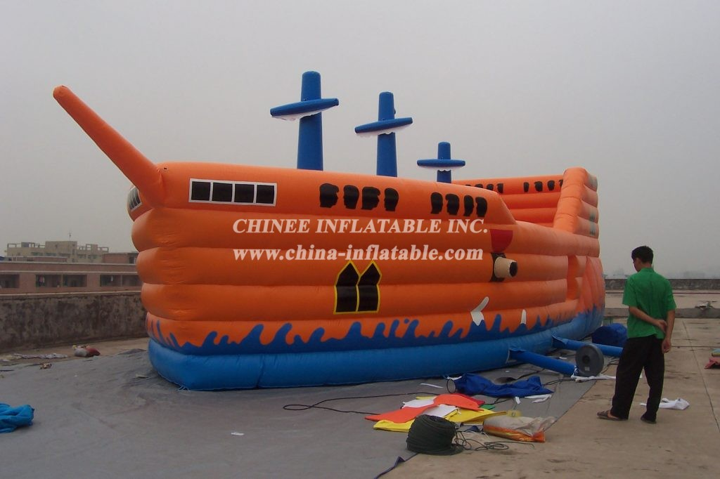 T2-198 inflatable bouncer