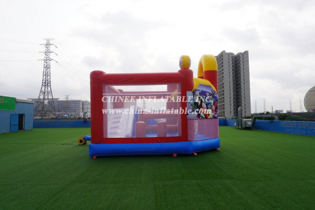 T2-3092 Mickey Mouse combo Inflatable Disney castle